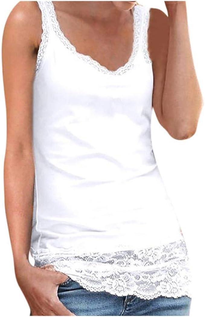 T Shirt Canotta camicetta donna cotone di medio grande Estate Spiaggia Nuova Dimensione Tee
