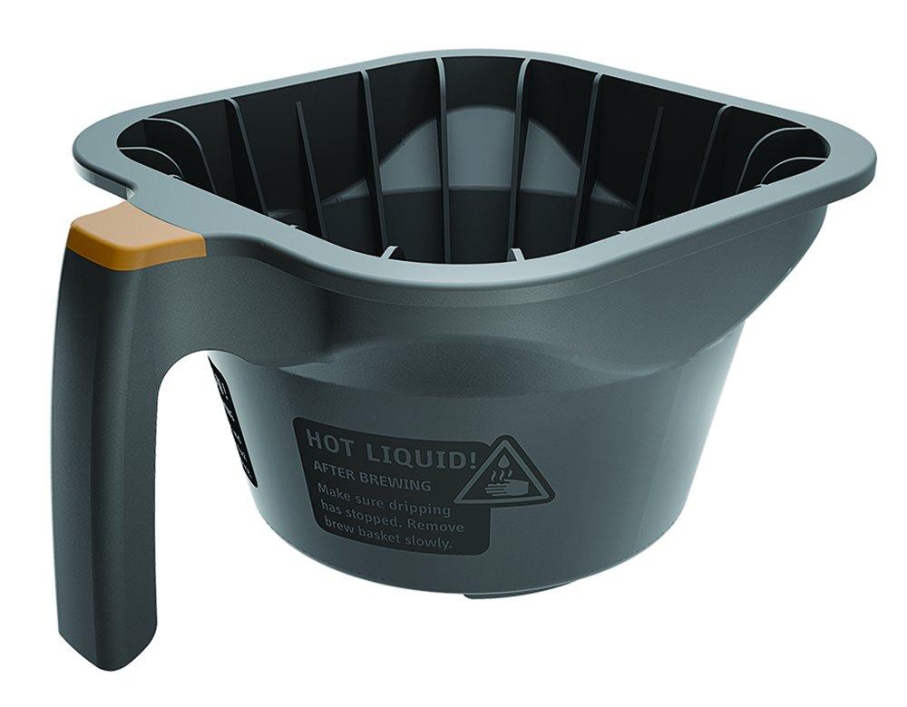 Fetco B015280Bn2 Brew Basket, Gray Plastic, Plastic Brew Basket mit Brown Tab