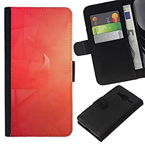 Leather Etui en cuir || Samsung Galaxy Core Prime || Red Wave @XPTECH