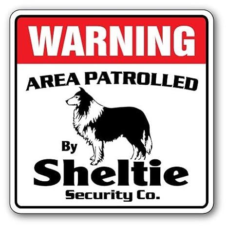 Divertido Cartel de Seguridad con Texto en inglés