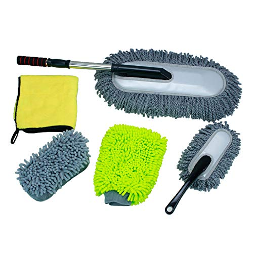LXDART Microfiber Extendable Long Handle Car Cleaning, used for sale  Delivered anywhere in USA
