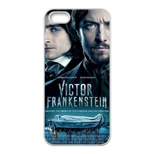 Victor Frankenstein coque iPhone 4 4S cellulaire cas coque de téléphone cas blanche couverture de téléphone portable EOKXLLNCD20626
