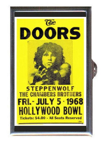 The Doors Steppenwolf At Hollywood Bowl Guitar Pick or Pill Box USA ()