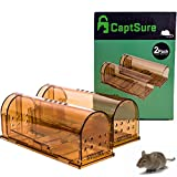 CaptSure 2019 Upgraded Humane Smart Mouse Trap