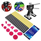 FLY5D® 27Pcs PDR Kits Dent Lifter Puller Tabs Glue Sticks for Car Paintless Dent Repair