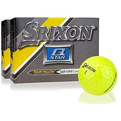 Srixon Q-Star Yellow Golf Balls- Double Dozen