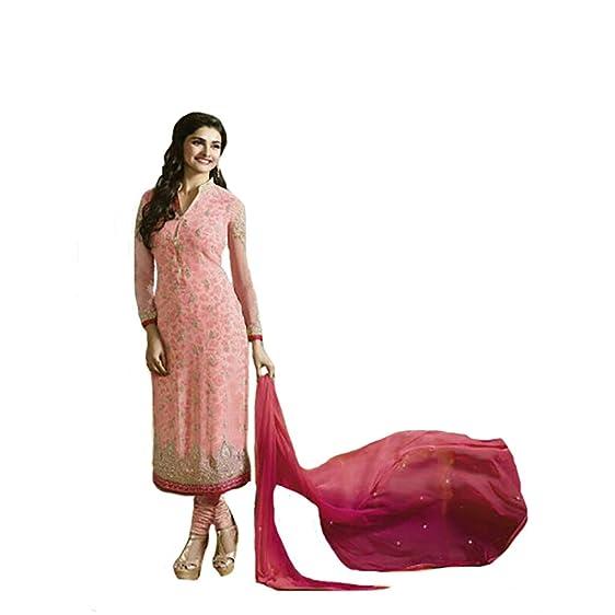 Amazon.com: Bridal Wedding Ethnic Bollywood Indo Western Straight ...