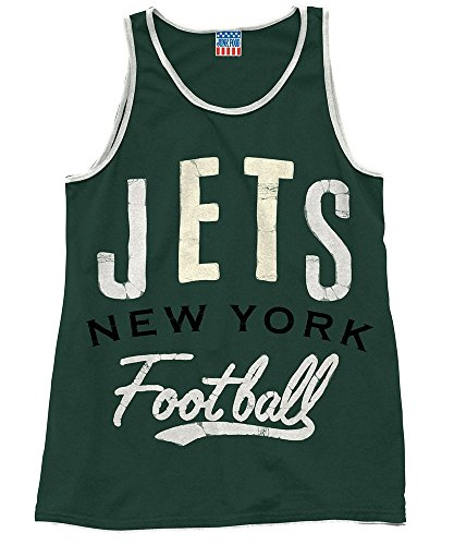 Mens New York Jets Time Out Tank ()