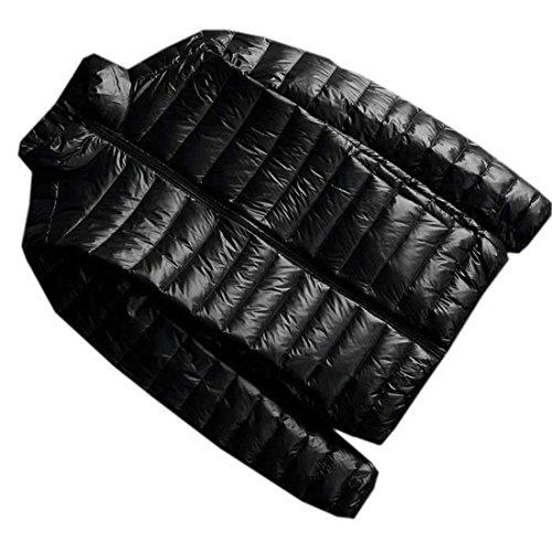 Fashion M Lightweight Jacket Mens EKU Coats Black Down Oversize 5qcpxnOW