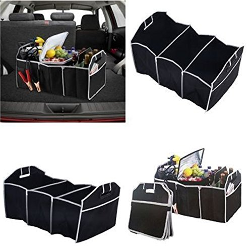 Foldable Collapsible Car Boot Storage Box Heavy Duty Tidy Tool Organizer Bag by Generic