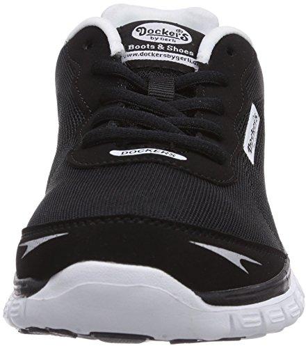 Dockers by Gerli 36VN20 - zapatilla deportiva de material sintético mujer negro - negro