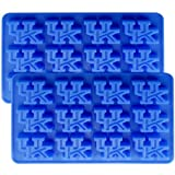 NCAA Kentucky Wildcats Ice Tray & Candy Mold, One Size, Blue