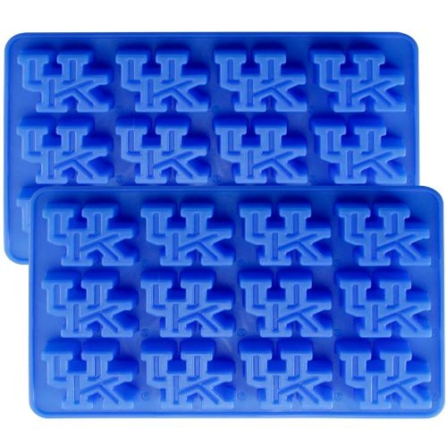 NCAA Kentucky Wildcats Ice Tray & Candy Mold, One Size, Blue by Fanpans (Image #2)