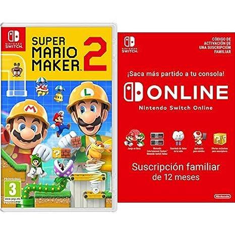 Super Mario Maker 2 [Nintendo Switch] + Switch Online 12 ...