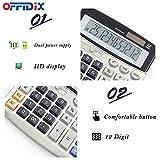 OFFIDIX Office Calculators Desktop Calculator,Basic
