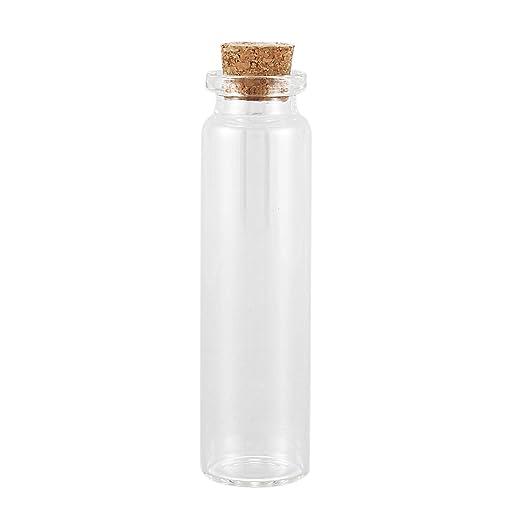 Gaoominy - 5 jarrones pequeños de Cristal para Botellas pequeñas ...