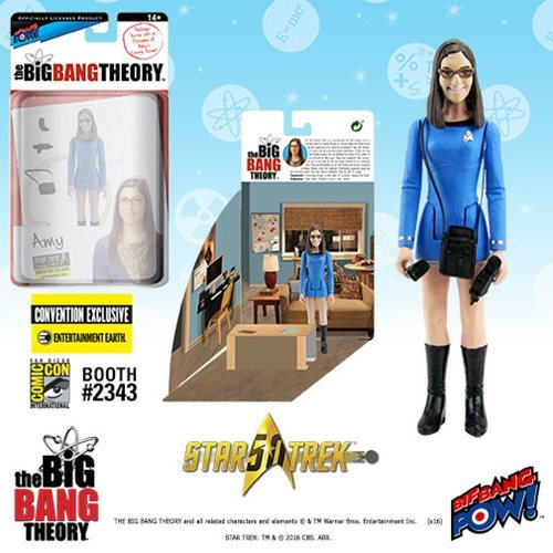 The Big Bang Theory Star Trek Amy 3 3/4-Inch Fig - Con Excl. Bif Bang Pow!