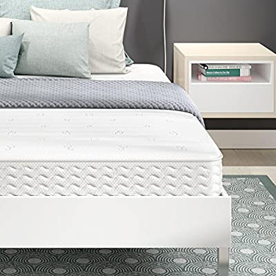 Signature Sleep Contour 8 Inch Independently Encased Coil Mattress with Low VOC CertiPUR-US Certified Foam
