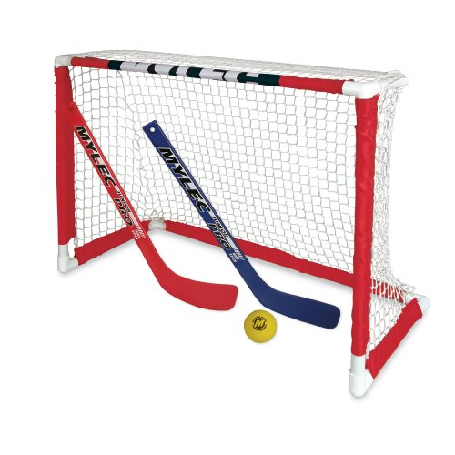 NEW Zetterberg Mylec Pro Style Mini Hockey Goal Set, White