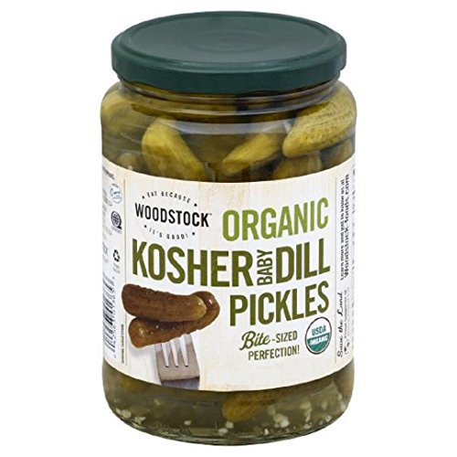 Woodstock Pickles - Kosher Dill - Sliced - Case of 6 - 64 fl oz