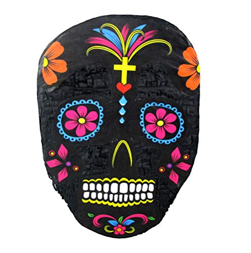Pinatas Sugar Skull Day of The Dead Party Game and Halloween Prop