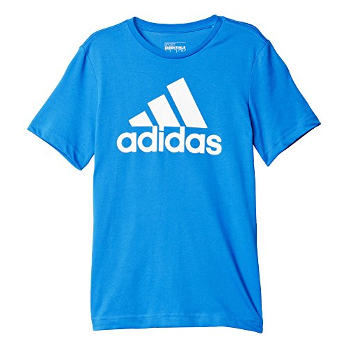 adidas Oberbekleidung Essentials Logo Tee, blau, 116, AK1989