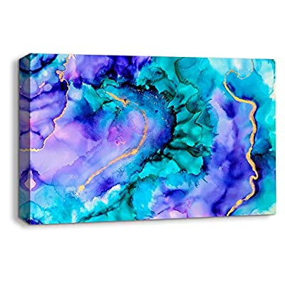Beautiful Abstract Ink Painting Artwork for Home Framed...