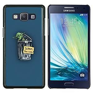 EJOOY---Cubierta de la caja de protección para la piel dura ** Samsung Galaxy A5 A5000 ** --Yoda Scram