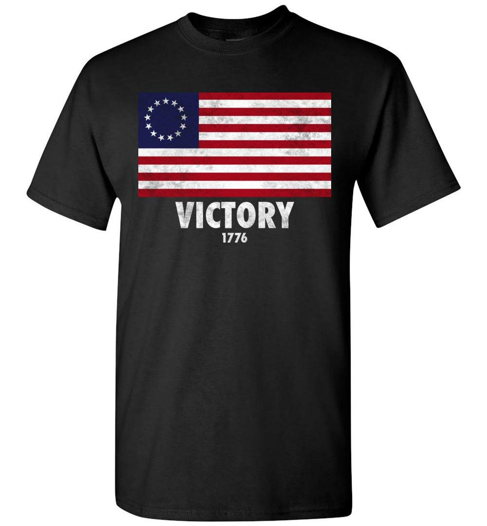 American B Ross Flag Victory 1776 Shirts