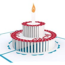 Lovepop Birthday Cake Pop Up Card, 3D Card, Greeting Card, Birthday Card