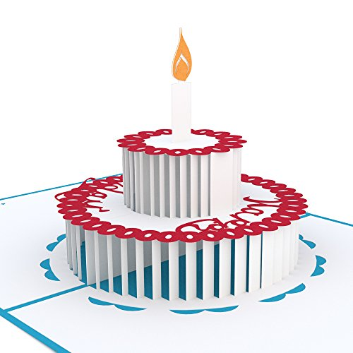 Lovepop Birthday Cake Pop Up Card, 3D Card, Greeting Card, Birthday Card by Lovepop