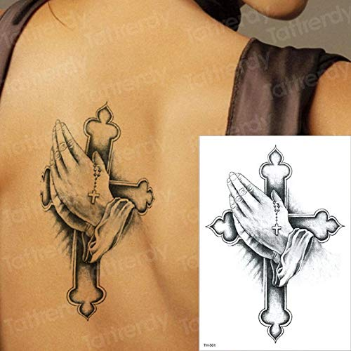 3 Piezas Tatuaje Cuchillo Brazo patrón Tatuaje Pegatina ...