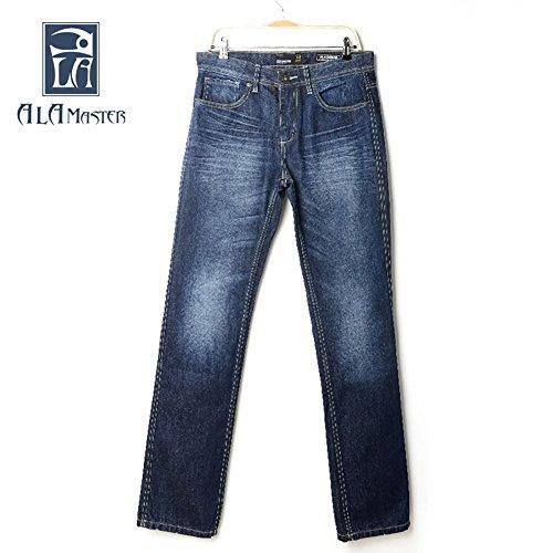 Pants for Men On Sale, Dark Blue, Cotton, 2017, 34 Entre Amis