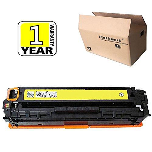 Etechwork 1 Pack 305A CE412A Color Toner Yellow Compatible for LaserJet Pro 400 Color M451dn M451dw MFP M451nw MFP M475dn MFP M475dw LaserJet Pro 300 Color MFP M375nw Printer