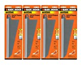 Black & Decker SC500 Handsaw Replacement (4 Pack) 74-591 Large Wood Cutting Blade# 74-591-4pk