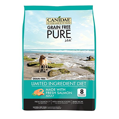 Canidae Grain Free Pure Sea Adult Dog Food, 4 lbs.