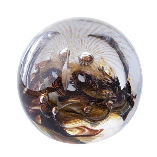 Caithness Glass Barn Owl Glass Paperweight