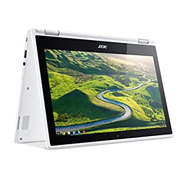 Acer Chromebook R 11 Convertible, 11.6 HD Touch, Intel Celeron N3150, 4GB DDR3L, 32GB, Chrome, CB5-132T-C1LK
