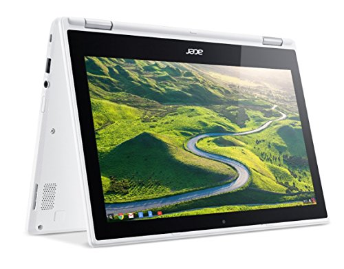 Acer Chromebook R 11 Convertible, 11.6-Inch HD Touch, Intel Celeron N3150, 4GB DDR3L, 32GB, Chrome, CB5-132T-C1LK by Acer