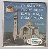 View Master The National Shrine of The Immaculate Conception Washington D.C. Set of 3 Vintage 1960s Reels Unopened/Unused Sealed Packet #A-795 Viewmaster