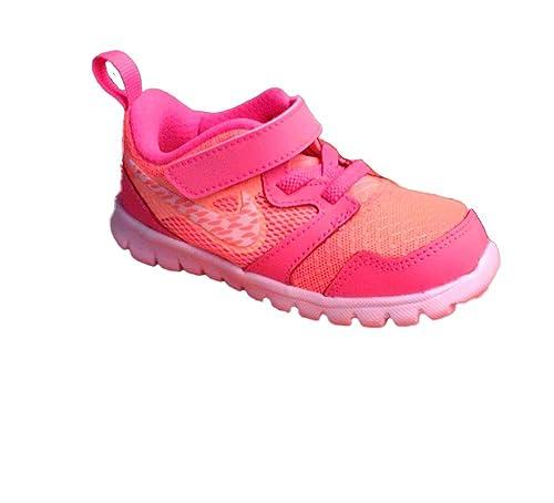 Nike Flex Experience (TDV) filles, cuir lisse, sneaker low, 21 EU
