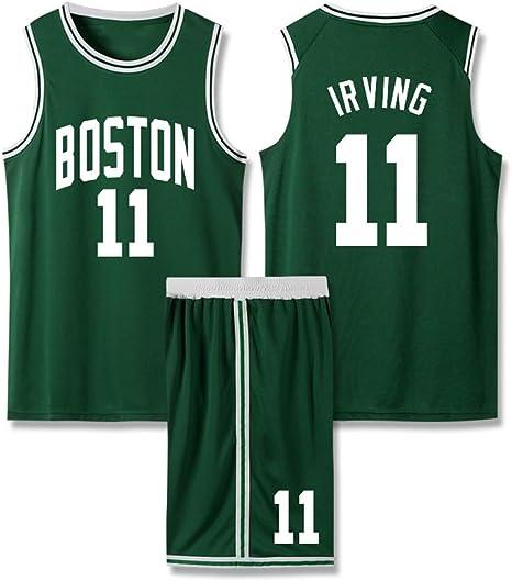 HHUT Hombres Jersey - NBA Kyrie Irving - Brooklyn Nets # 11 de Bordado de Malla Point Guard Baloncesto