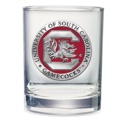 2pc, Pewter University of South Carolina Double Old Fashioned - Double Fashioned Old Carolina