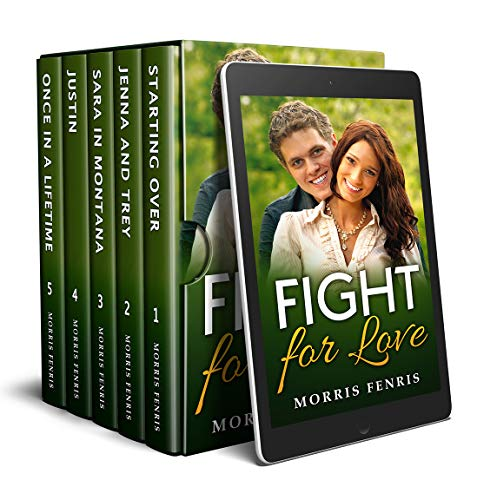 Fight For Love: Box Set of 5 Christmas Inspirational Novels by [Fenris, Morris]