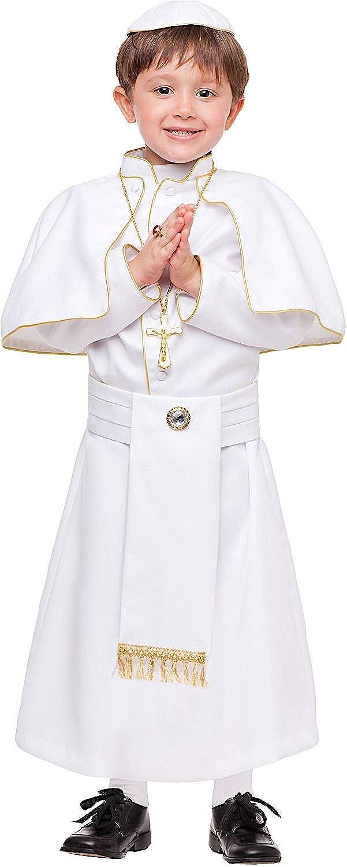 Promoción por tiempo limitado Disfraz Papa Vestido Fiesta de Carnaval Fancy Dress Disfraces Halloween Cosplay Veneziano Party 53909