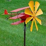 Panacea 72' Red & Yellow Airplane Windmill