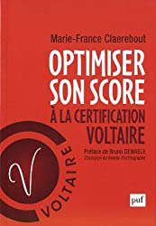 Optimiser son score à la certification Voltaire