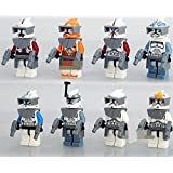 SEOWTOYS® 2016 New Brand 8 PCS Star wars Guard Minifigure Set Toys For Children's