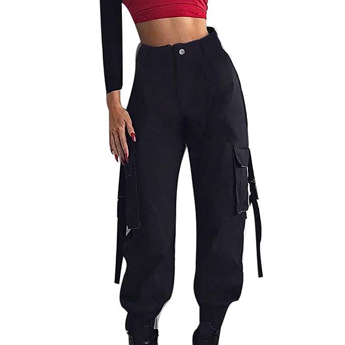 Amazon.com: Buckle - Pantalones de mujer con hebilla casual ...