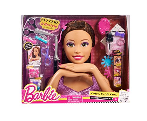 barbie styling head large - 1